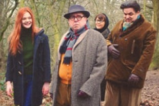 Elle Fanning as Ginger, Timothy Spall as Mark, Annette Bening as Bella and Oliver Platt as Mark