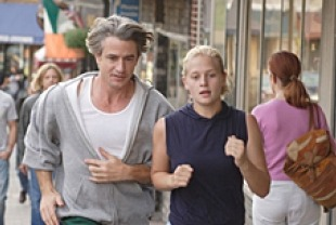 Dermot Mulroney as Bryan and Carly Schroeder as Grace