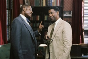 Forest Whitaker as James Farmer Sr. and Denzel Washington as Melvin Tolson