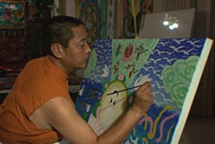 Lhanang Rinpoche in Art and the Creative Spirit