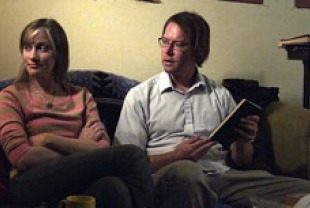 Liz Fisher as Agnes and Paul Gordon as Bill