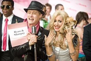 Lucas Graeel as Ryan and Ashley Tisdale as Sharpay