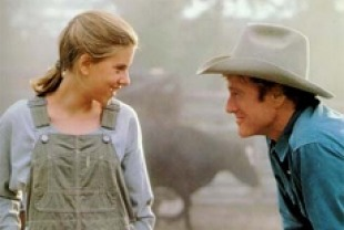 Scarlett Johansson and Robert Redford in The Horse Whisperer