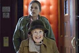 Hayley Atwell as Ellie and Joan O'Hara as Joan