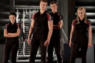 Isabelle Fuhrman as Clove, Alexander Ludwig as Cato, Jack Quaidas Marvel and Leven Rambin as Glimmer