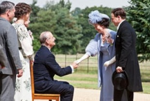Olivia Williams as Eleanor, Bill Murray as FDR, Olivia Colman as Queen Elizabeth and Samuel West as King George VI