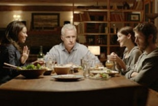 Gabrielle Union as Vicky, John Slattery as Gil, Jena Malone as Andie, and Zech Hilford as Seth