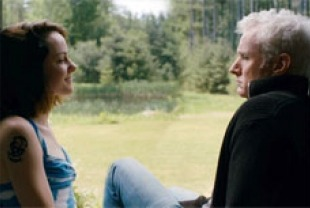 Jena Malone as Andie and John Slattery as Gil
