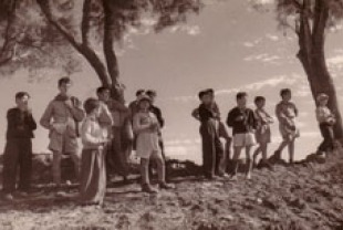 Children from Kibbutz Hulda, 1948