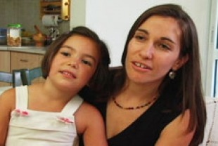 Dana Shani and her daughter Romi