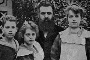 Theodor Herzl and his children