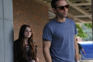 Alessando Nivola as Ethan and Abigail Breslin as Janie