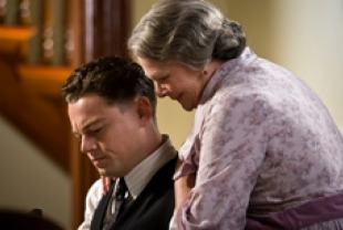 Leonardo DiCaprio as J. Edgar Hooverand Judi Dench as Annie Hoover