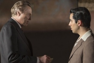 Christopher Walken as Angelo and John Lloyd Young as Frankie