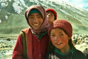 Children from Zanskar