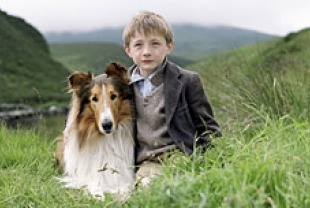 Mason as Lassie and Jonathan Mason as Joe