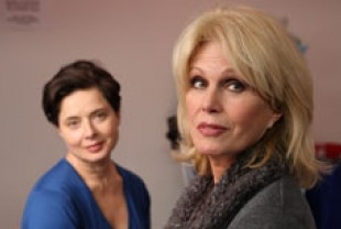 Isabella Rossellini as Mary and Joanna Lumley as Charlotte