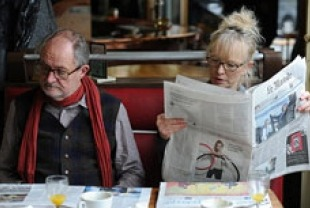 Jim Broadbent Nick as and Lindsay Duncan as Meg