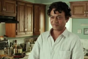 Irrfan Khan as adult Pi