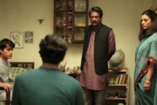 Vibish Sivakumas as Ravi, Adil Hussain as Pi's Father and Tabu as Pi's Mother