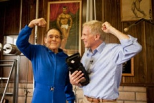 Jack LaLanne (94 yrs old) and Mark Wexler
