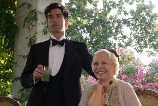 Hamish Linklater as Brice and Jacki Weaver as Grace