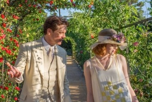 Colin Firth as Stanley and Emma Stone as Sophie