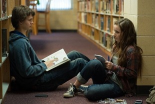 Ansel Elgort as Tim and Kaitlyn Dever as Brandy