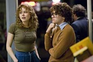 Alison Pill as Anne Kronenberg and Emile Hirsch as Cleve Jones