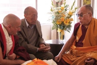 Nicholas Vreeland and His Holiness The Dalai Lama