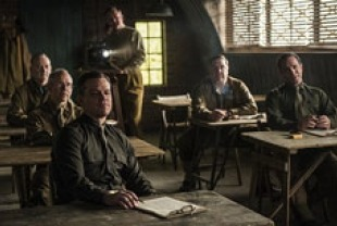 A scene from The Monuments Men