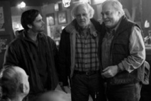Will Forte as David, Bruce Dern as Woody and Stacy Keach as Ed