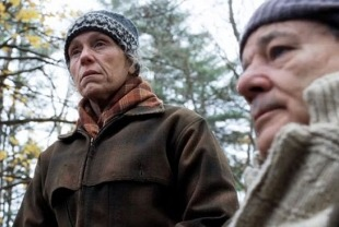 Frances McDormand as Olive and Bill Murray as Jack