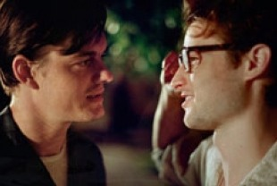 Sam Riley as Sal and Tom Sturridge as Carlo