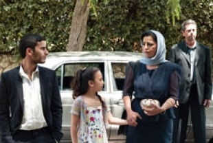 Medhi Dehbi as Yacine, Khalifa Natour as Said and Areen Omari as Leila