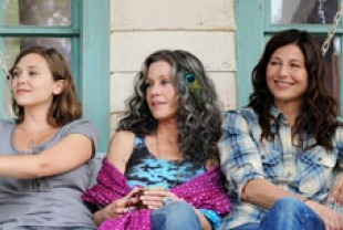 Elizabeth Olsen as Zoe, Jane Fonda as Grace, and Catherine Keener as Diane