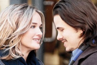 Jess Weixler as Vandy and Jason Ritter as Peter