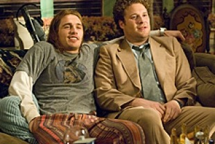 James Franco as Saul and Seth Rogen as Dale