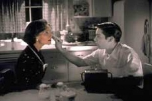 Joan Allen as Betty and Tobey Maguire as David