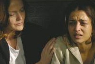 Miranda Richardson as Veronica and Aishwarya Rai as Kiranjit