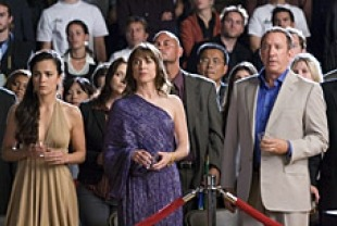Alice Braga as Sondra, Rebecca Pidgeon as Zena Frank, and Tim Allen as Chet Frank