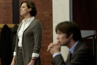 Sigourney Weaver as Margaret and Cillian Murphy as Tom