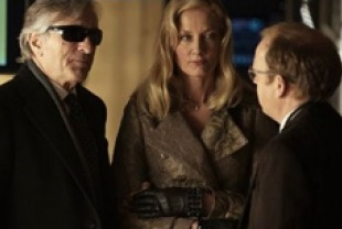 Robert DeNiro as Simon, Joely Richardson as Monica and Toby Jones as Paul