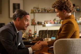 Tom Hanks as Walt and Emma Thompson as Travers
