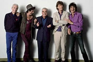 The Rolling Stones with director Martin Scorsese