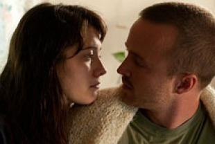 Mary Elizabeth Winstead as Hannah and Aaron Paul as Charlie