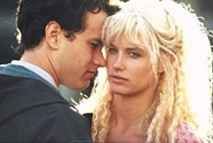 Daryl Hannah and Tom Hanks