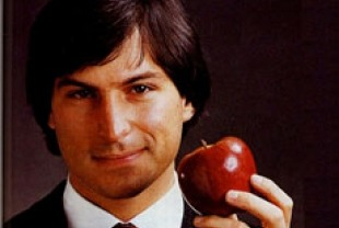 a young Steve Jobs