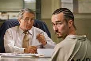 Robert De Niro as Jack Mabry and Edward Norton as Stone