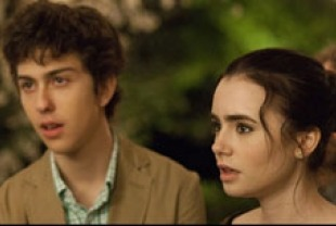 Nat Walff as Rusty and Lily Collins as Samantha